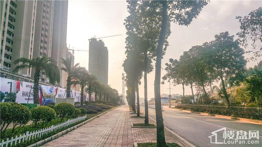 恒大城实景图(摄于2017.2.21)