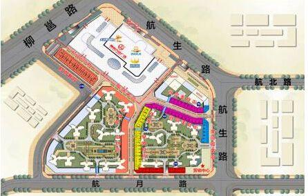 柳南万达广场位置图