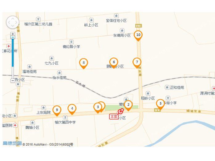 桂园位置图