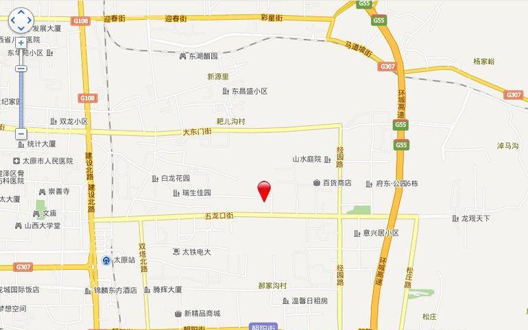 东方锦绣城位置图