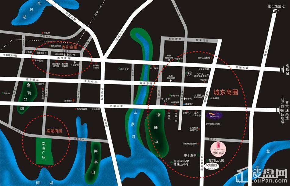 尚东家园位置图