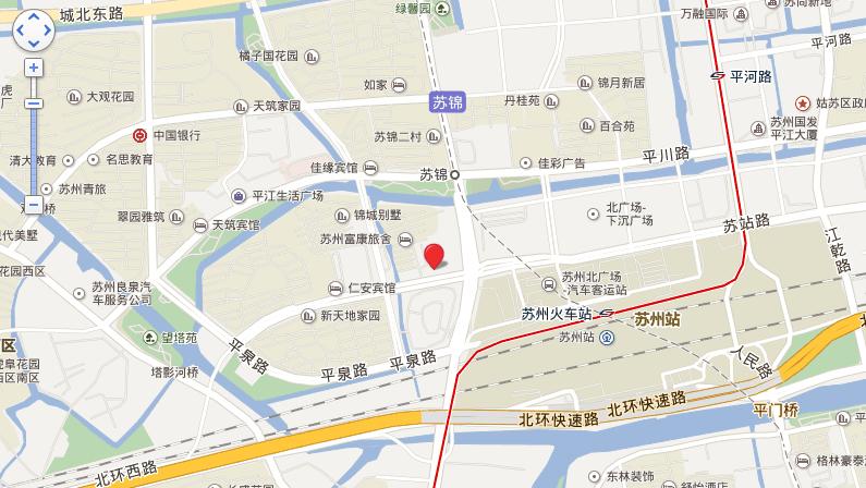平江风华位置图