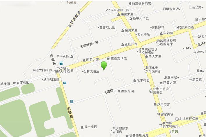 蓝海尚城位置图