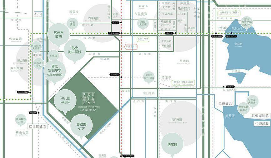 仁恒公园世纪位置图