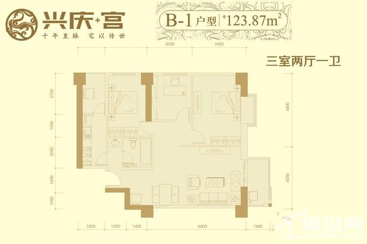 7#楼B1户型