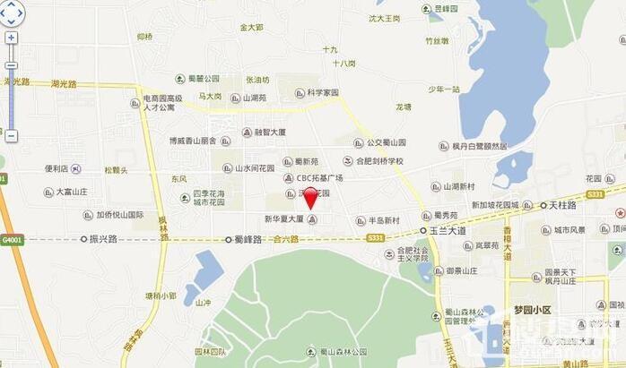 中煤西城广场实景图