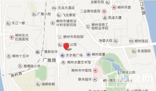 地王公馆位置图