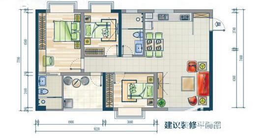 鑫海大厦C户型