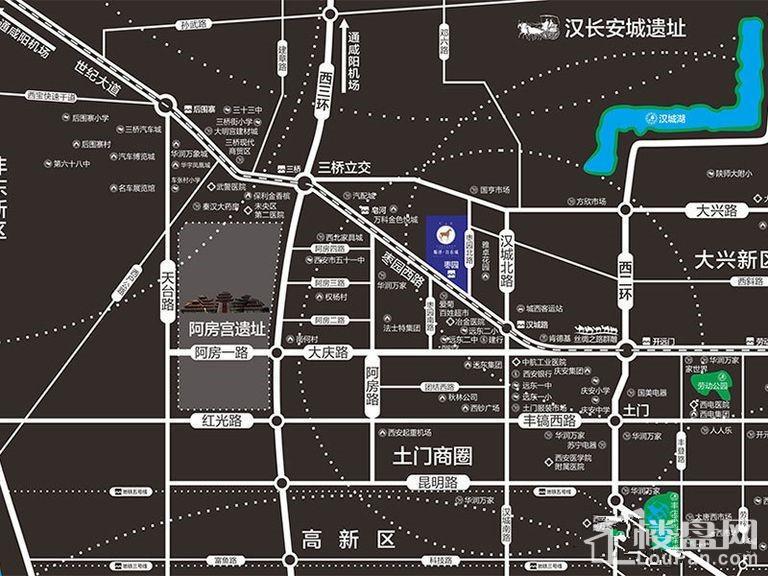顺泽·枣园里位置图