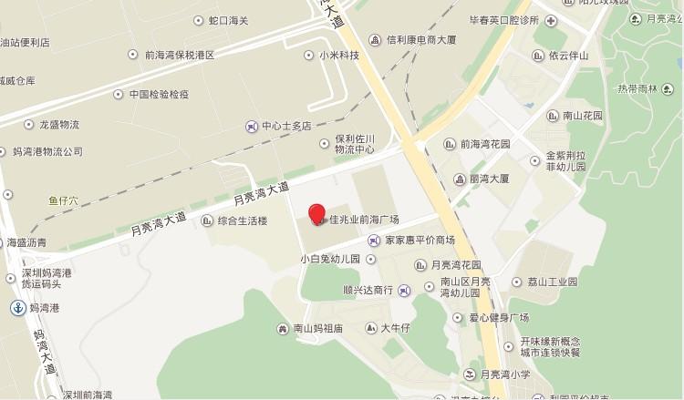 佳兆业前海广场2期位置图