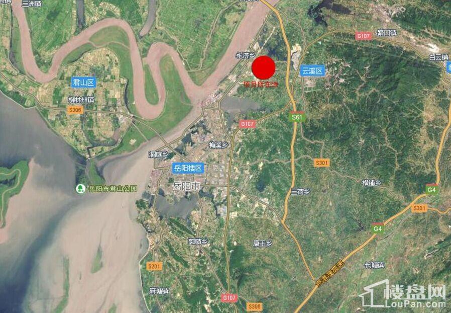 永济新镇项目位置图