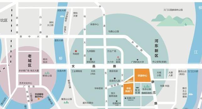 华润·凯旋门位置图