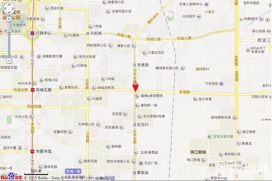 华远枫悦位置图