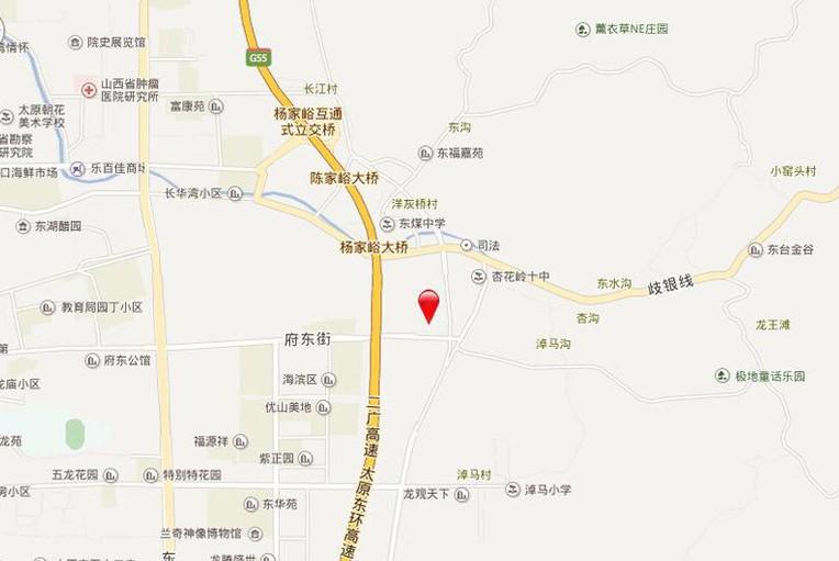 碧桂园·城市花园项目位置图