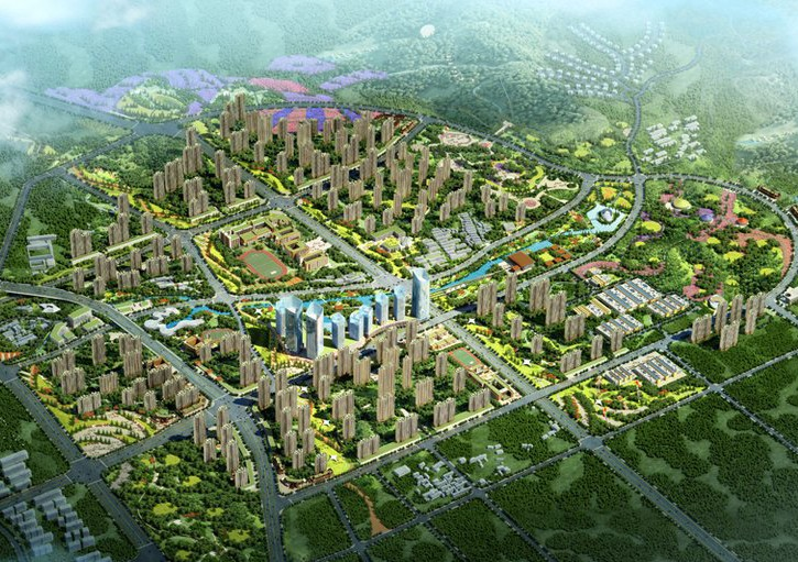 碧桂园·城市花园项目效果图