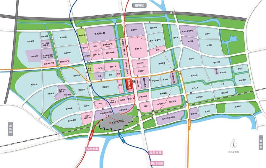 苏州潮流广场位置图