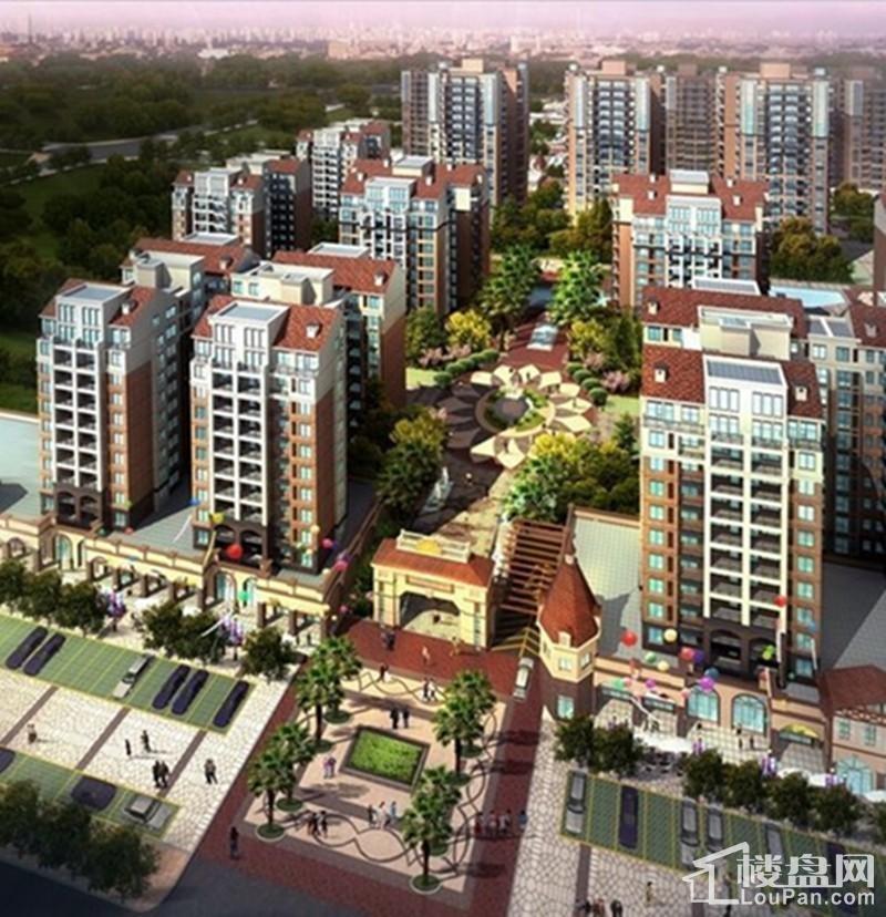 广汇·圣湖城效果图