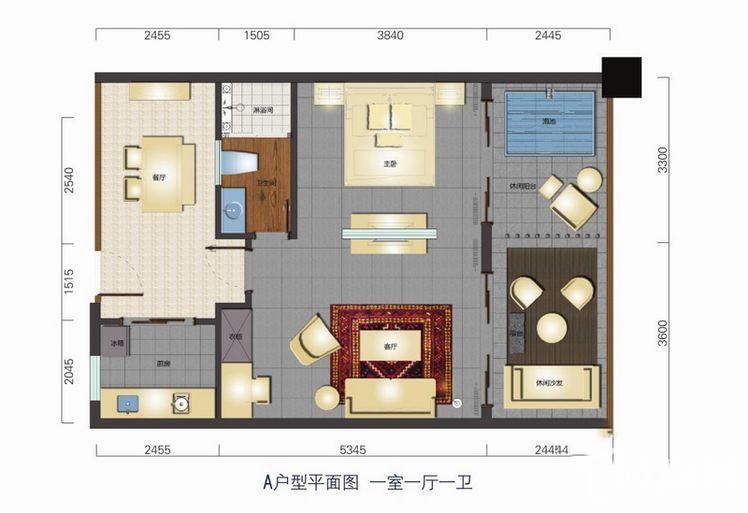 B户型酒店公寓
