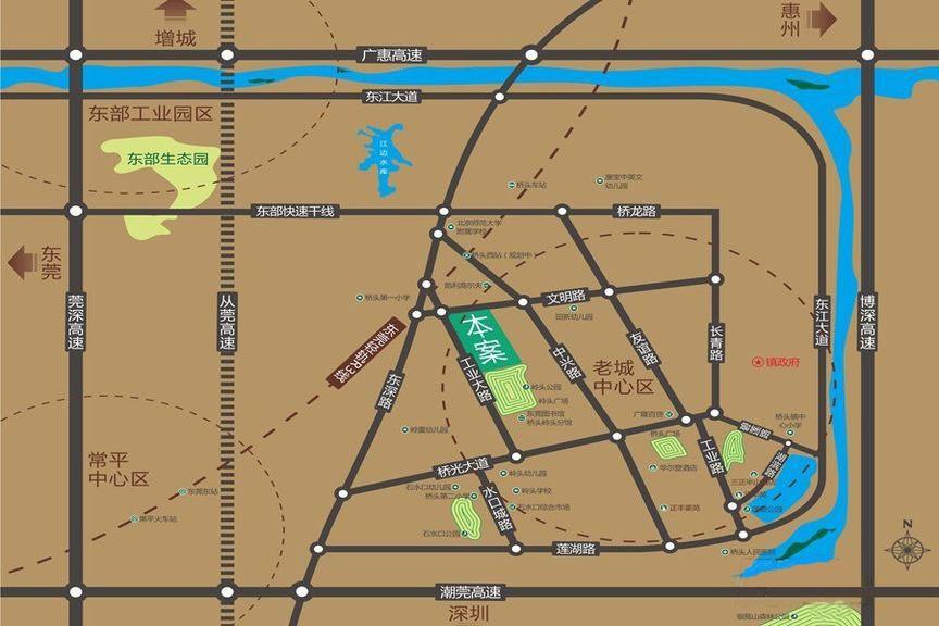 三正公园里位置图
