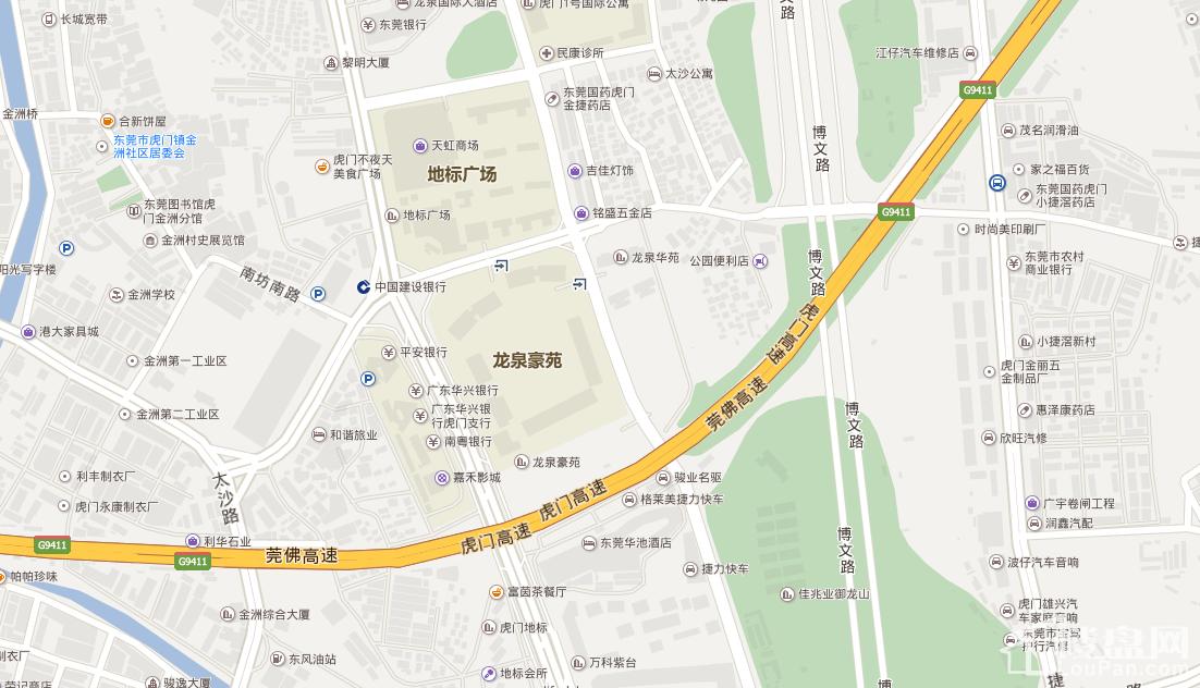 龙泉圣达菲交通图