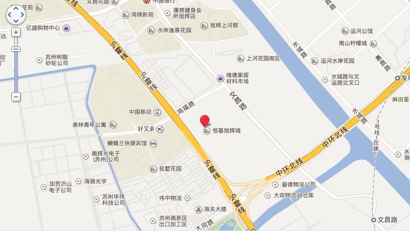 恒基旭辉城位置图