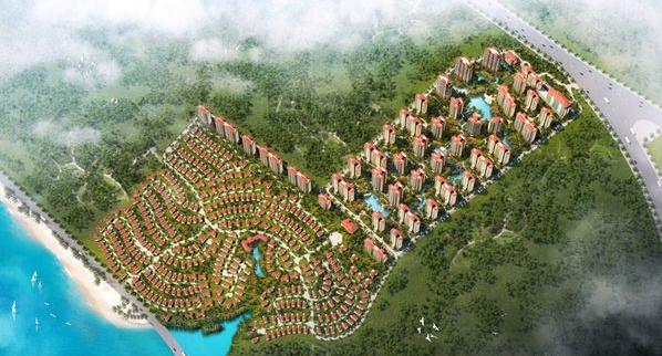 海湾雨林效果图