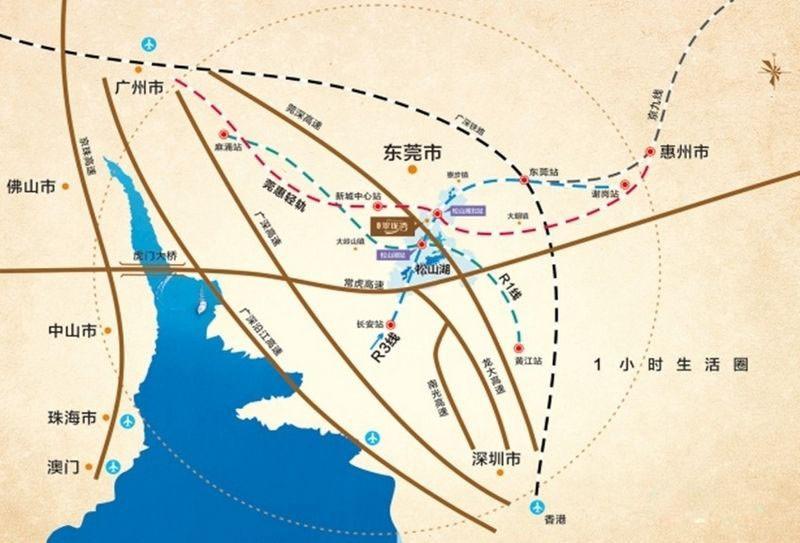 星城翠珑湾位置图