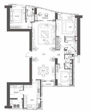 豪宅A1户型