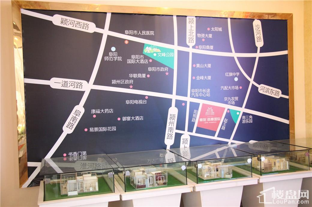 阜阳商厦国际位置图