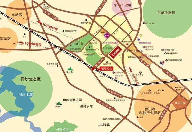 东新御珑庭位置图