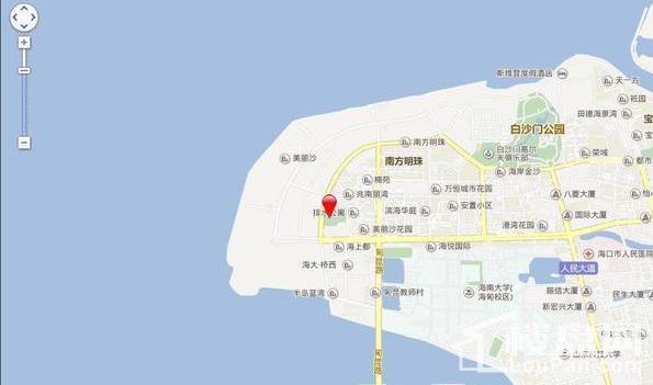 帝景海岸位置图