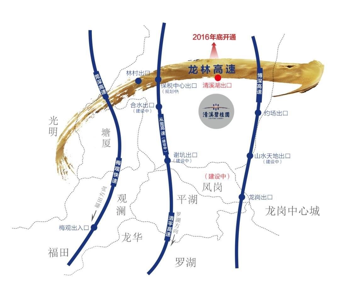 碧桂园天誉位置图