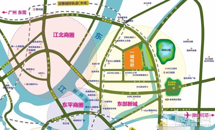 一城悦府位置图