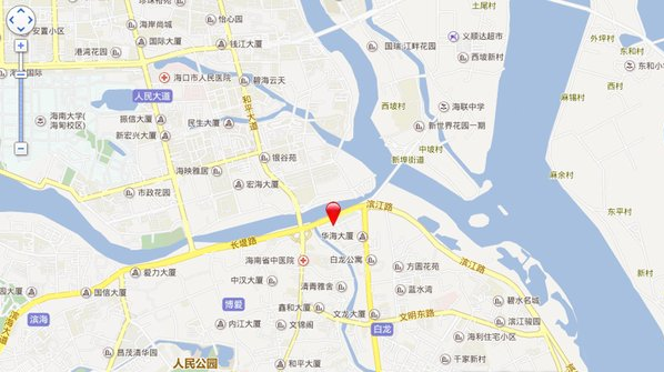 长堤YOHO中心位置图