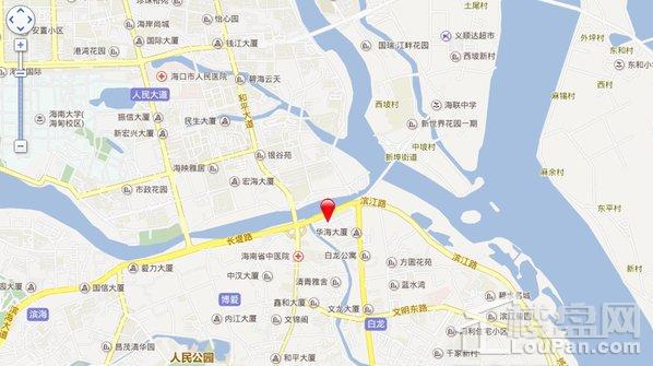 长堤YOHO中心交通图