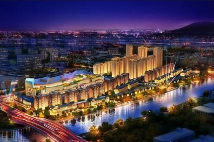 扬州新城吾悦广场效果图