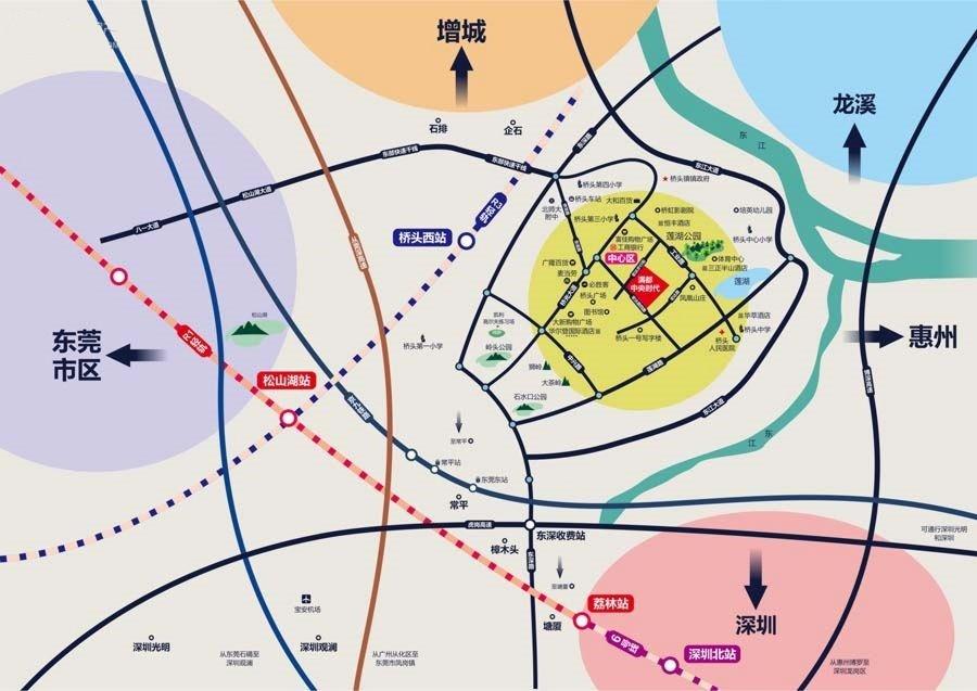 满都·中央时代位置图