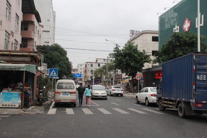 项目周边街道