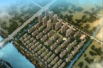 中海运河丹堤效果图