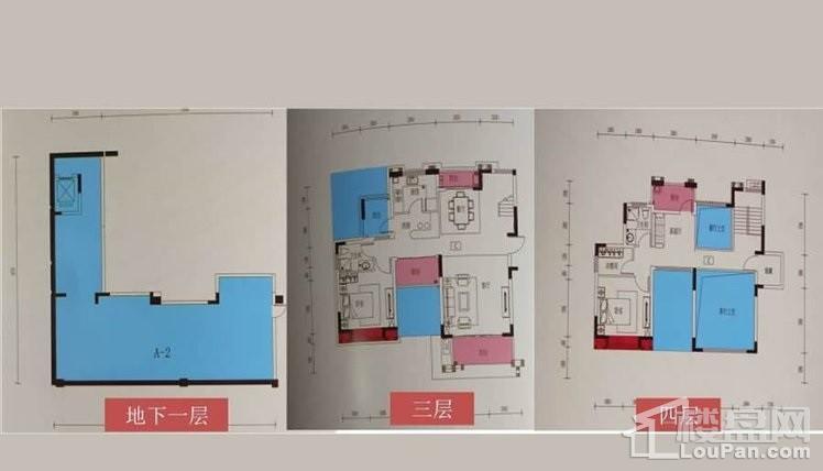 叠加别墅3-4层