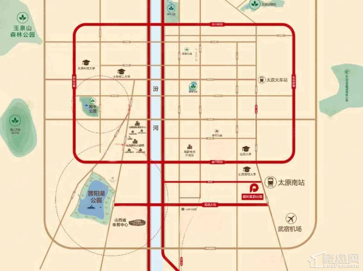 保利茉莉公馆位置图