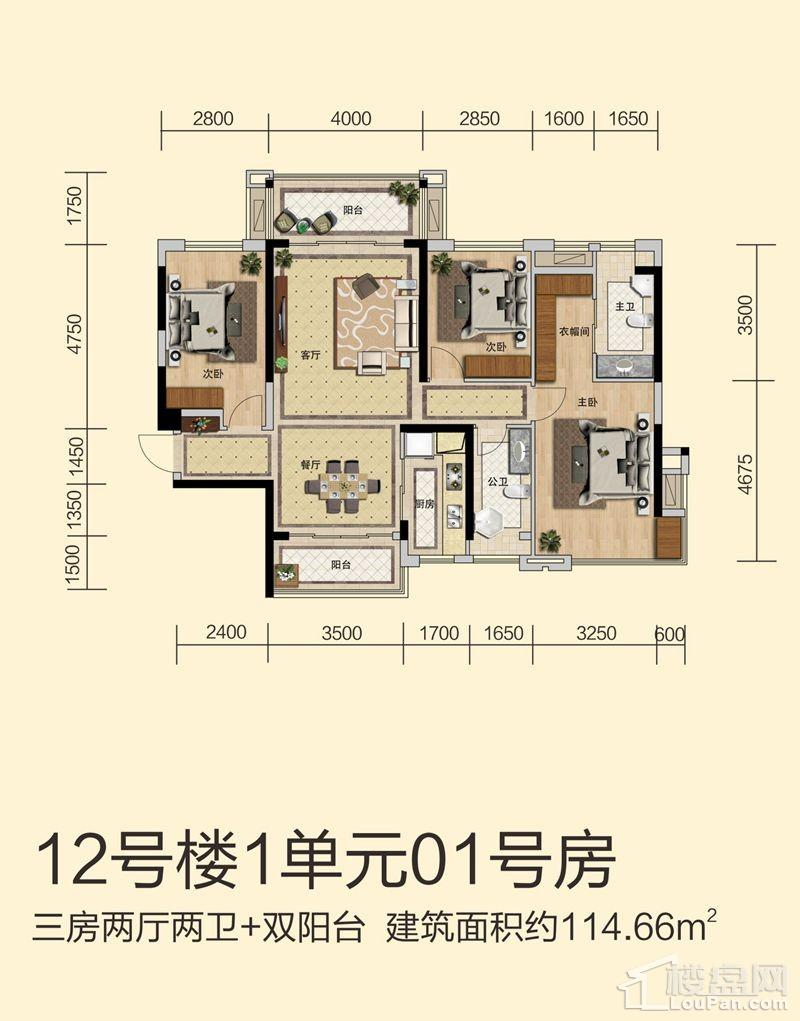 12号楼1单元01号房