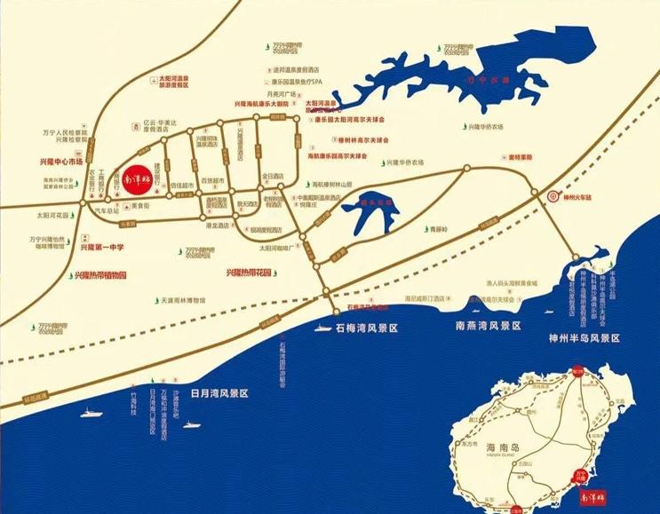 兴隆南洋坊位置图