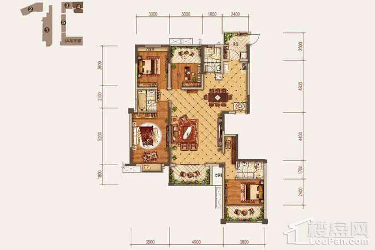 三期4号楼一单元2号房、二单元1号房