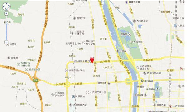 天泓华郡项目位置图