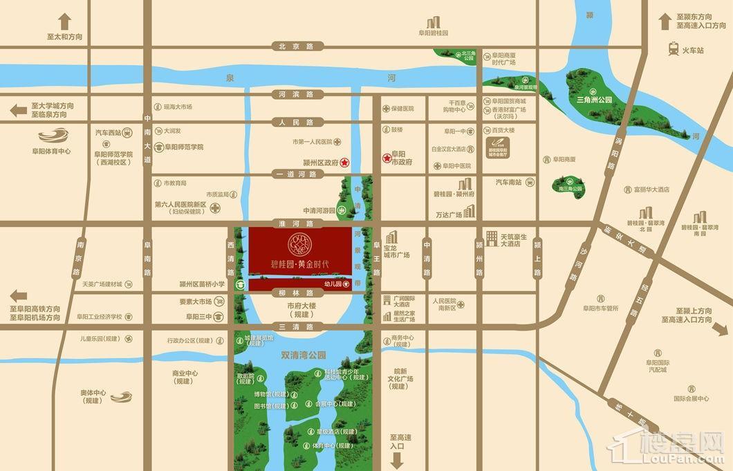 碧桂园黄金时代区位图