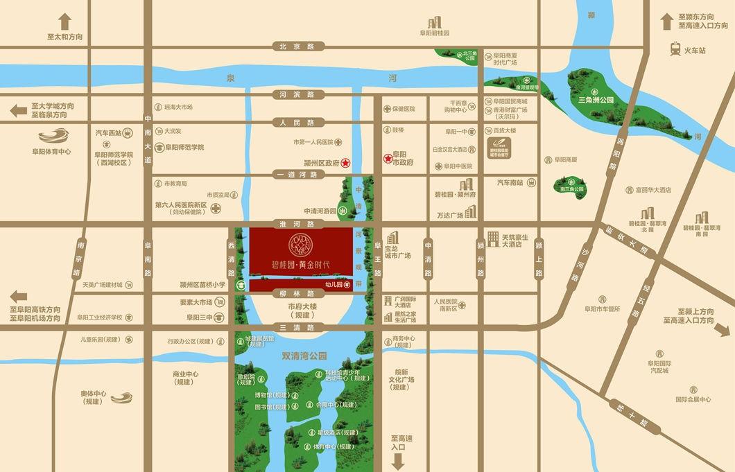 碧桂园·黄金时代位置图