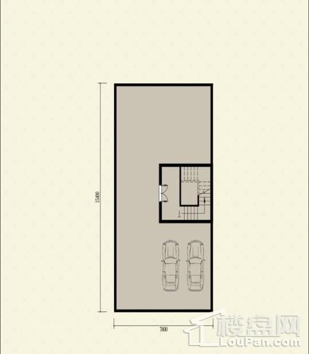 三联排别墅102户型