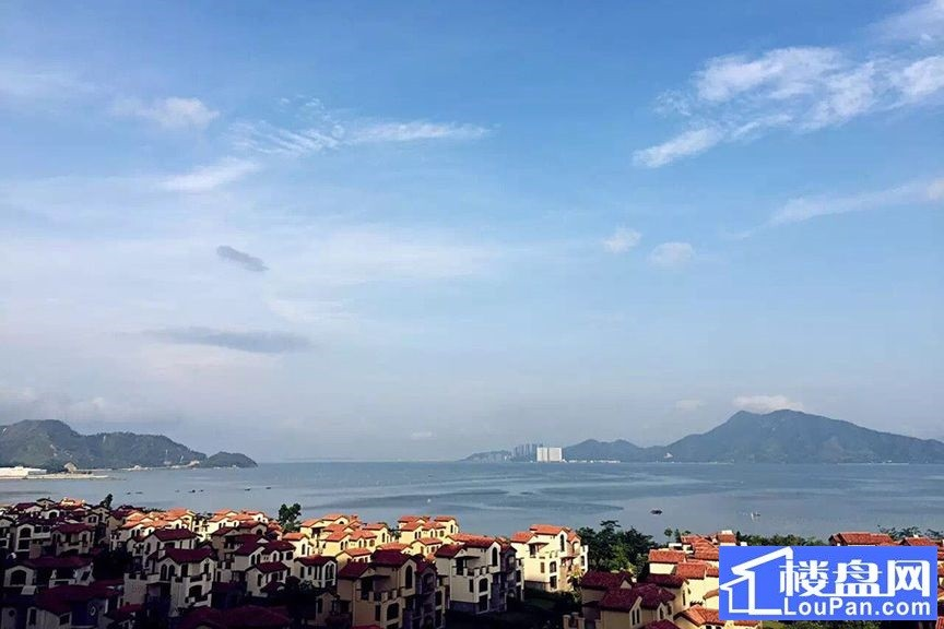 惠州富力湾实景图