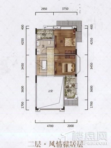 LA户型 二层